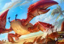 Smite's Monstercat Battlepass Is Here And Rock Lobster Khepri Is Sad