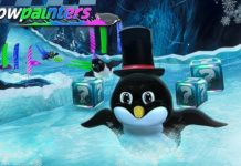 Combine Paint And Penguins For The Cutest Racing Game