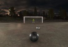 Dark Roll: Free Kick Challenge...It's Soccer, But You're The Ball