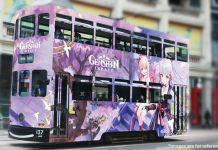 Help Design The Genshin Impact Anniversary Bus And Win Real-World Prizes