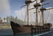 Atlas Is Still Afloat, Introduces Massive 40-gun Ship
