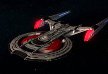 Star Trek Online Offers Players The Chance To Pick Up The Mirror Universe Gagarin Warship In Its Most Recent Event